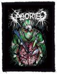 ABORTED: Butchered Lobotomy (70x95) (felvarró)