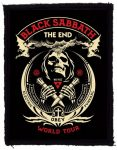 BLACK SABBATH: The End World Tour (70x95) (felvarró)