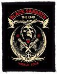 BLACK SABBATH: The End World Tour (70x95) (felvarró)