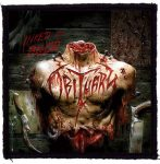 OBITUARY: Inked In Blood (95x95) (felvarró)