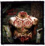 OBITUARY: Inked In Blood (95x95) (felvarró)