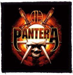 PANTERA: Skull Knives (95x95) (felvarró)