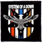 SYSTEM OF A DOWN: Eagle (95x95) (felvarró)