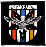 SYSTEM OF A DOWN: Eagle (95x95) (felvarró)