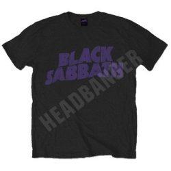 BLACK SABBATH: Wavy Logo (póló)