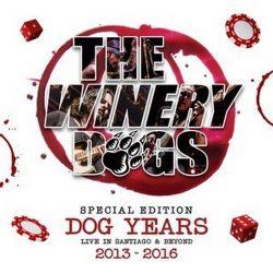 WINERY DOGS: Dog Years Live 2013-2016 (Blu-ray, 3CD+DVD)