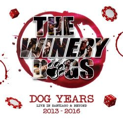 WINERY DOGS: Dog Years Live (Blu-ray + CD)