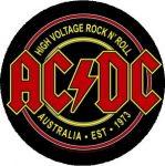 AC/DC: Logo Australia (nagy jelvény, 3,7 cm)