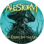 ALESTORM: No Grave But The Sea (nagy jelvény, 3,7 cm)