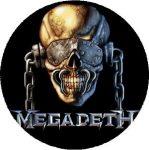 MEGADETH: Vic (nagy jelvény, 3,7 cm)