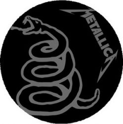METALLICA: Snake (nagy jelvény, 3,7 cm)