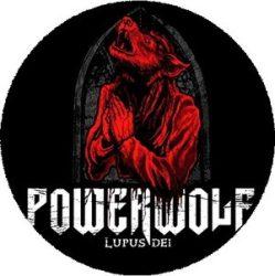 POWERWOLF: Lupus Dei (nagy jelvény, 3,7 cm)