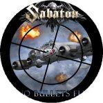 SABATON: No Bullets Fly (nagy jelvény, 3,7 cm)