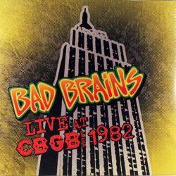 BAD BRAINS: Live At CBGB 1982 (LP)