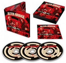 ALTER BRIDGE: Live At The O2 Arena (3CD)