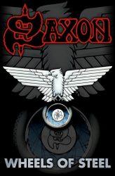 SAXON: Wheels Of Steel (zászló)