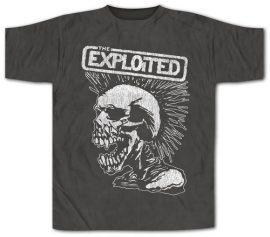 EXPLOITED: Vintage Skull (póló)