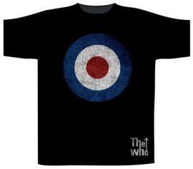 WHO: Distressed Target (póló)