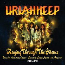 URIAH HEEP: Raging Through The Silence (2CD+DVD)