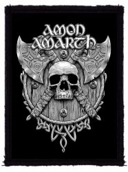 AMON AMARTH: Skull And Axes (70x95) (felvarró)