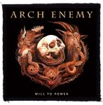 ARCH ENEMY: Will To Power (95x95) (felvarró)