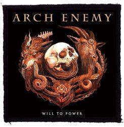 ARCH ENEMY: Will To Power (95x95) (felvarró)