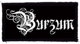 BURZUM: Logo Belus (95x45) (felvarró)