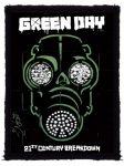 GREEN DAY: Gas Mask (70x95) (felvarró)