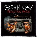 GREEN DAY: Revolution Radio (95x95) (felvarró)