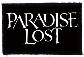 PARADISE LOST: Logo (95x60) (felvarró)