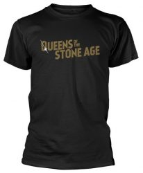 QUEENS OF THE STONE AGE: Text Logo (póló)