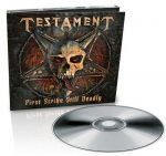 TESTAMENT: First Strike Still Deadly (CD, 2017 reissue, digipack)