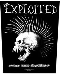 EXPLOITED: Beat The Bastards (backpatch)