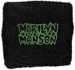 MARILYN MANSON: Logo (frottír csuklószorító)