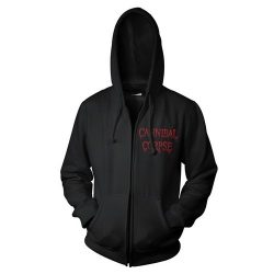 CANNIBAL CORPSE: Red Before Black (kapucnis pulóver, cipzáros)