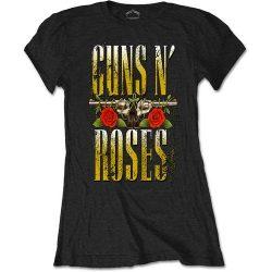 GUNS N' ROSES: Big Guns (női póló)