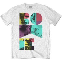 DAVID BOWIE: Colour Sax (póló, fehér)