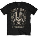 GUNS N' ROSES: Top Hat, Skull & Pistols (póló)