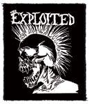 EXPLOITED: White Skull (80x95) (felvarró)
