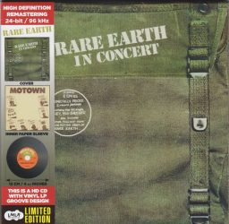 RARE EARTH: In Concert (CD, Deluxe Edition)