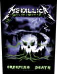 METALLICA: Creeping Death (hátfelvarró / backpatch)