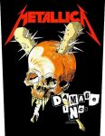 METALLICA: Damage Inc. (hátfelvarró / backpatch)