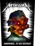 METALLICA: Hardwired (hátfelvarró / backpatch)