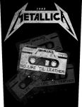 METALLICA: No Life 'til Leather (hátfelvarró / backpatch)