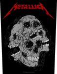 METALLICA: Skulls Hardwired (hátfelvarró / backpatch)