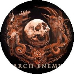 ARCH ENEMY: Will To Power (jelvény, 2,5 cm)