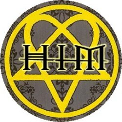 HIM: Logo (jelvény, 2,5 cm)