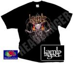 LAMB OF GOD: Flaming Eyes (póló)