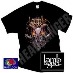 LAMB OF GOD: Flaming Eyes (póló)