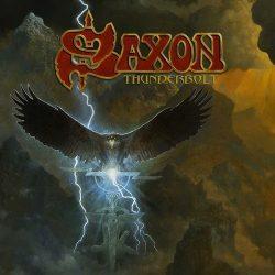 SAXON: Thunderbolt (box, LP+CD+MC+pin)